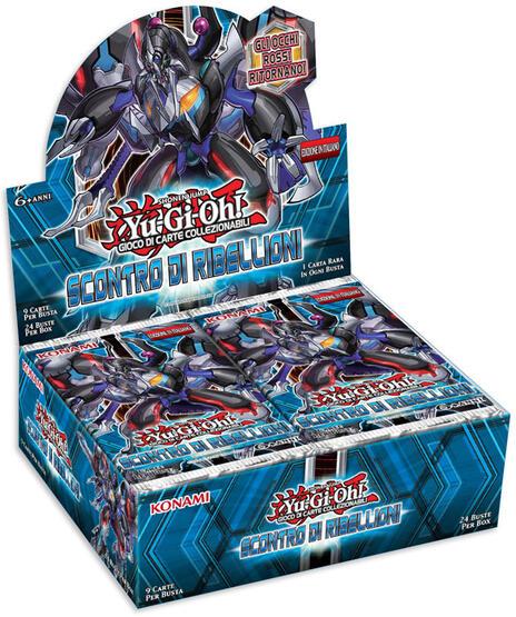 Yu-Gi-Oh! Busta 9 carte Scontro di ribellioni. Espansione - ITA - 10