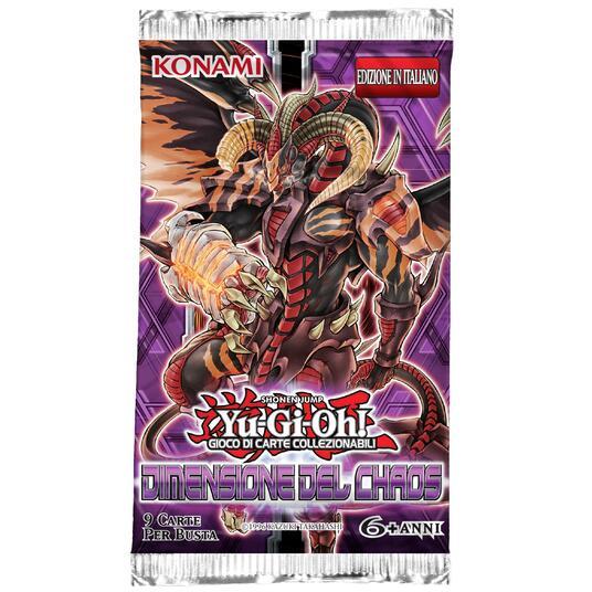Yu-Gi-Oh! Busta 9 carte Dimensione del Chaos. Espansione - ITA - 5