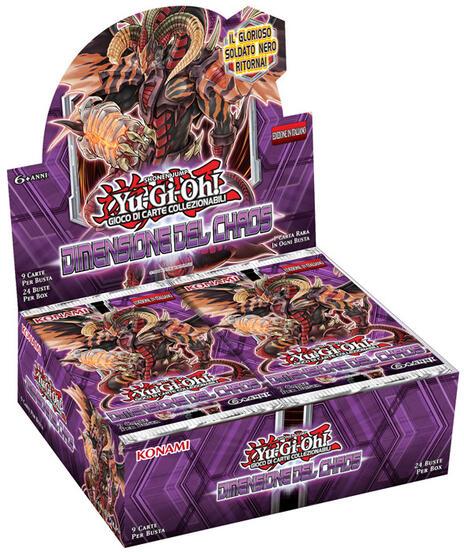 Yu-Gi-Oh! Busta 9 carte Dimensione del Chaos. Espansione - ITA - 10