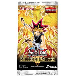 Giocattolo Yu-Gi-Oh! Busta 5 carte Millennium Pack - ITA Konami 0