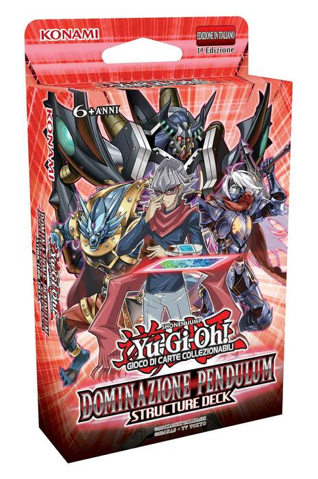 Yu-Gi-Oh! Mazzo Structure Deck Dominazione Pendulum - 5