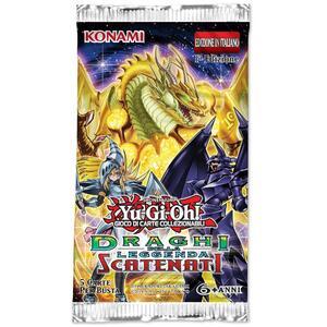 Yu-Gi-Oh! Bustina Draghi Della Leggenda Scatenati - 4