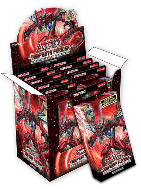 Yu-Gi-Oh! Bustina Tempesta Furiosa Edizione Speciale - 5