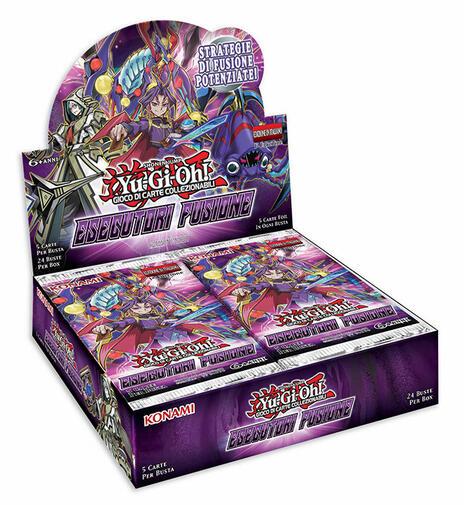 Busta Special 5 Carte Yu-Gi-Oh!. Esecutori Fusione - 11