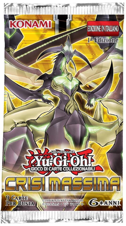 Yu-Gi-Oh! Bustina 9 carte Crisi Massima - 6
