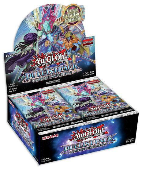 Busta 5 Carte Yu-Gi-Oh!. Duelist Pack Guardiani Dimensionali - 4