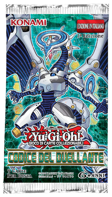 Yu-Gi-Oh! Codice del Duellante Busta - 3