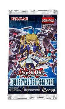 Busta 5 Carte Yu-Gi-Oh!. Duellanti Leggendari