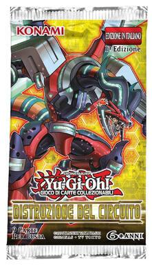 Busta 9 Carte Yu-Gi-Oh!. Distruzione Del Circuito