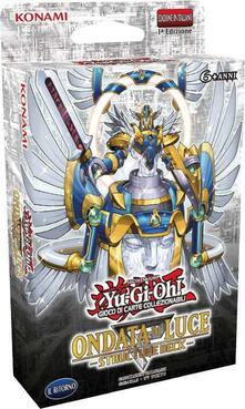 Yu-Gi-Oh!. Structure Deck Ondata Di Luce 42 Carte