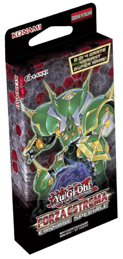 Yu-Gi-Oh!. Forza Estrema Edizione Speciale 3 Buste Da 9 Carte + 2 Carte Addizionali