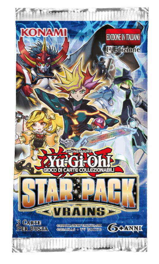 Yu-Gi-Oh! Star Pack: Vrains busta