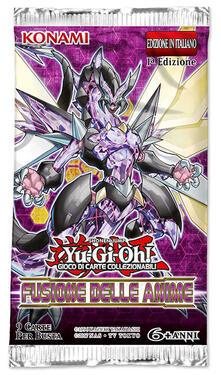 Busta 9 Carte Yu-Gi-Oh!. Fusione Delle Anime