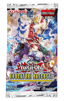Busta 5 Carte Foil Yu-Gi-Oh!. Evocatori Nascosti