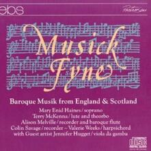 Baroque Music from England - CD Audio