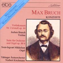 Violin Concert & Orcheste - CD Audio di Max Bruch