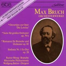 Orchesterwerke - CD Audio di Max Bruch
