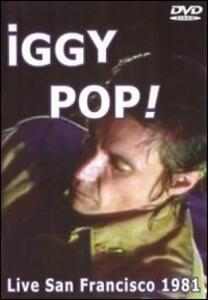 Iggy Pop. Live In San Francisco 1981 - DVD