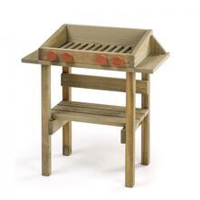 Pino Da Estero Erzi 10051. Barbecue In Legno