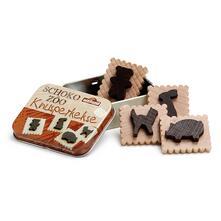 Erzi 13210. Biscotti Al Cioccolato In Scatoletta Di Metallo