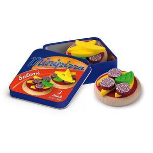 Erzi 19325. Mini Pizza In Scatoletta Di Metallo