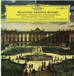 Concerti per violino n.4, n.5 - Vinile LP di Wolfgang Amadeus Mozart,Berliner Philharmoniker,Wolfgang Eduard Schneiderhan