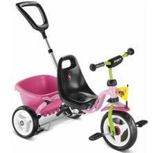 Triciclo con Vaschetta Cat.1S Rosé/Kiwi