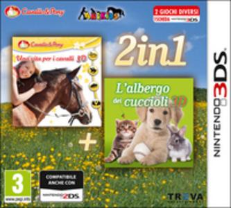 Videogioco Una vita per i cavalli & L'albergo dei cuccioli Nintendo 3DS