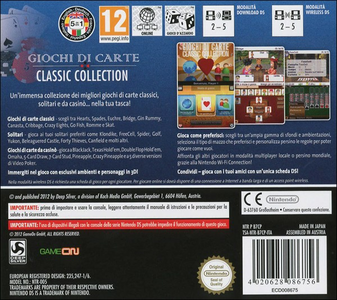 Videogioco Giochi di Carte - Classic Collection Nintendo DS 1