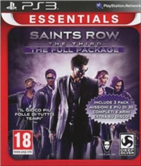 Essentials Saints Row. The Third