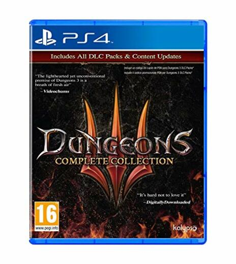 Dungeons 3 - Complete Collection - Complete - PlayStation 4