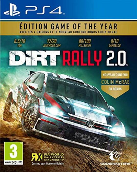 Dirt Rally 2.0 Edition Game Of The Year [Edizione: Francia]
