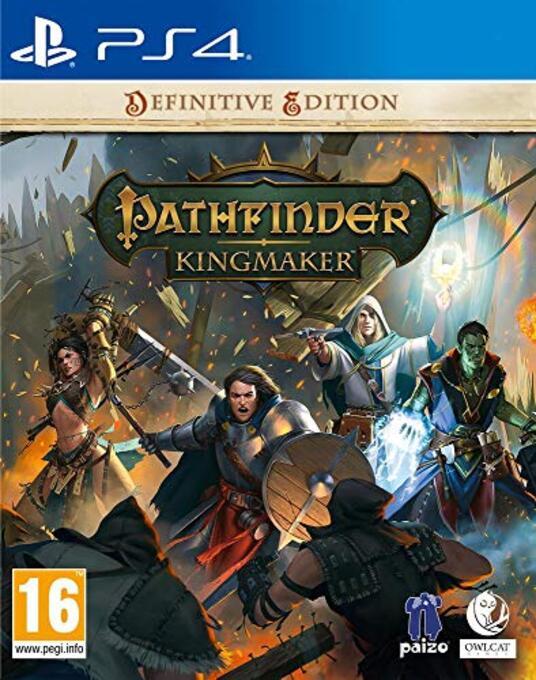 Pathfinder: Kingmaker – Definitive Edition - Complete - PlayStation 4