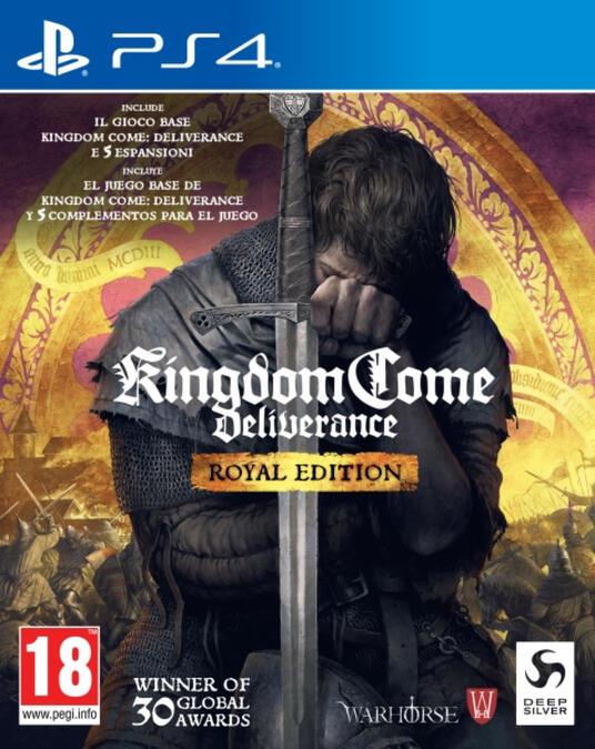 Koch Media Kingdom Come: Deliverance Royal Edition, PS4 PlayStation 4 ESP,ITA