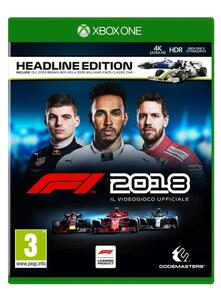 F1 2018 - Headline Edition - XONE