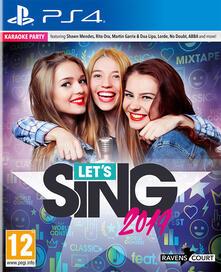 Let's Sing 2019 + Mic - PS4