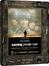 Cover Dvd Salvate il soldato Ryan. Steelbook (2 Blu-ray + Blu-ray Ultra HD 4K)