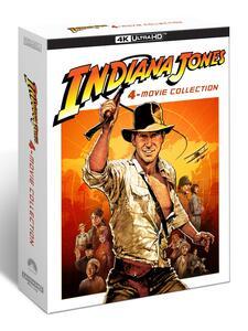 Film Indiana Jones. 4 Movie Collection (Blu-ray + Blu-ray Ultra HD 4K) Steven Spielberg