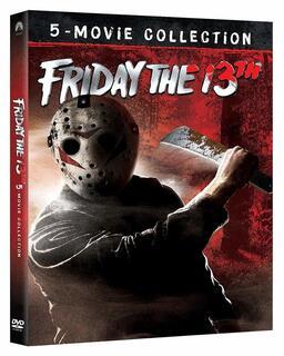 Film Venerdì 13. 5 Film Collection (5 DVD) Sean S. Cunningham Tom McLoughlin Steve Miner Danny Steinmann Joseph Zito