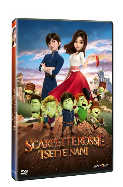 scarpette rosse e i sette nani dvd dvd film di sungho hong animazione ibs eur