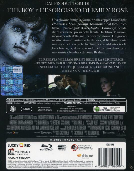 The Boy. La maledizione di Brahms (Blu-ray) di William Brent Bell - Blu-ray - 2