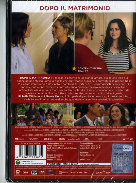 Dopo il matrimonio (DVD) di Bart Freundlich - DVD - 2
