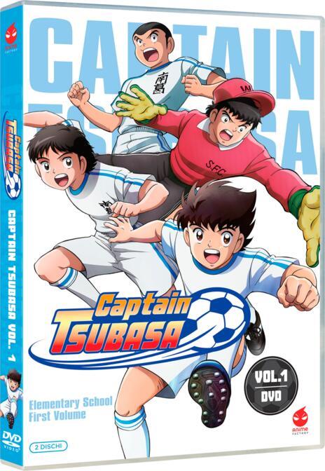 Captain Tsubasa vol.1 (2 DVD) di Toshiyuki Kato - DVD