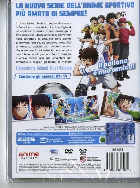 Captain Tsubasa vol.1 (2 DVD) di Toshiyuki Kato - DVD - 2