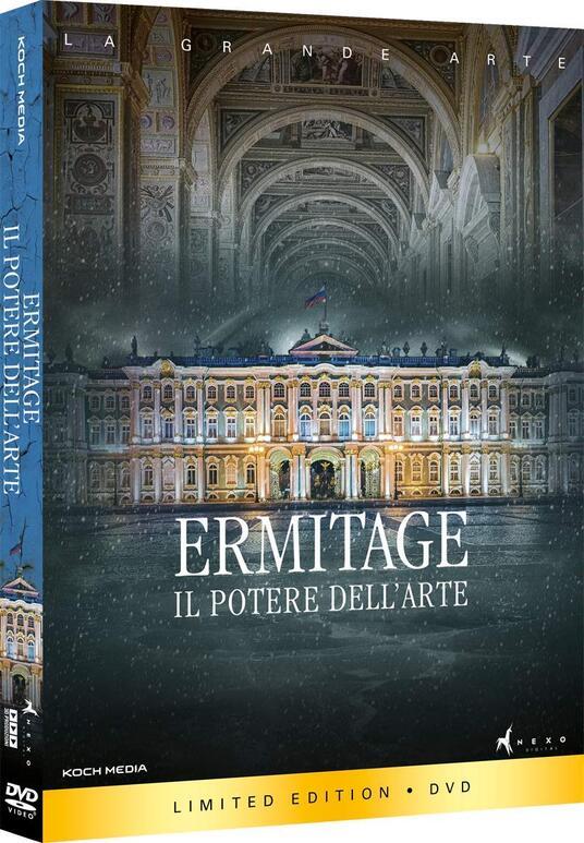 Ermitage. Il potere dell'arte (DVD) di Toni Servillo - DVD