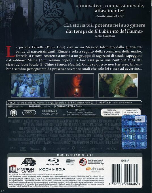 Tigers Are Not Afraid (Blu-ray) di Issa López - Blu-ray - 2