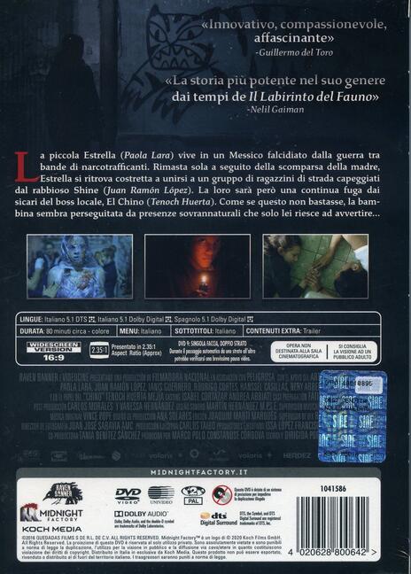 Tigers Are Not Afraid (DVD) di Issa López - DVD - 2