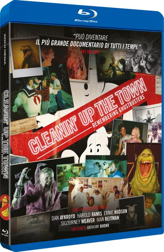 Cleanin' Up the Town. Remembering the Ghostbusters (Blu-ray) di Anthony Bueno - Blu-ray