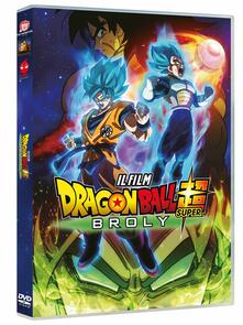 Dragon Ball Super: Broly. Il Film. Standard Edition (DVD) di Tatsuya Nagamine - DVD