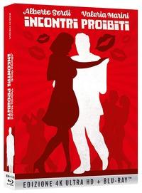 Cover Dvd Incontri proibiti (Blu-ray + Blu-ray Ultra HD 4K)